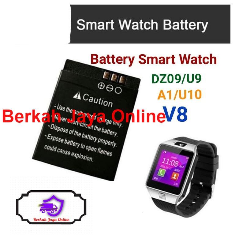 Baterai Cognos Onix Smartwatch Battery Dz09 / A1 / U10 / V8 By Berkah Jaya Online.