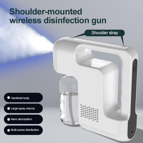 【JMYmall】Enhanced 9 Blue Light 480ml Wireless Disinfection Sprayer Handheld Nano-fine Water Drop Sprayer Usb Rechargeable Disinfection Sprayer【Ready Stock】