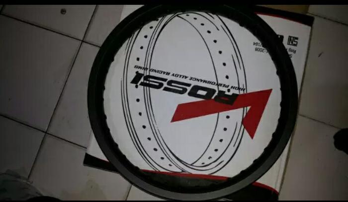 Velg Rossi 250 Ring 18 Hitam Doof