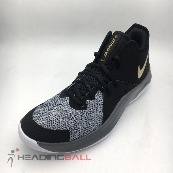 huge discount e4f1f 9471a Sepatu Basket Nike Original Air Versitile III Black Grey AO4430-005