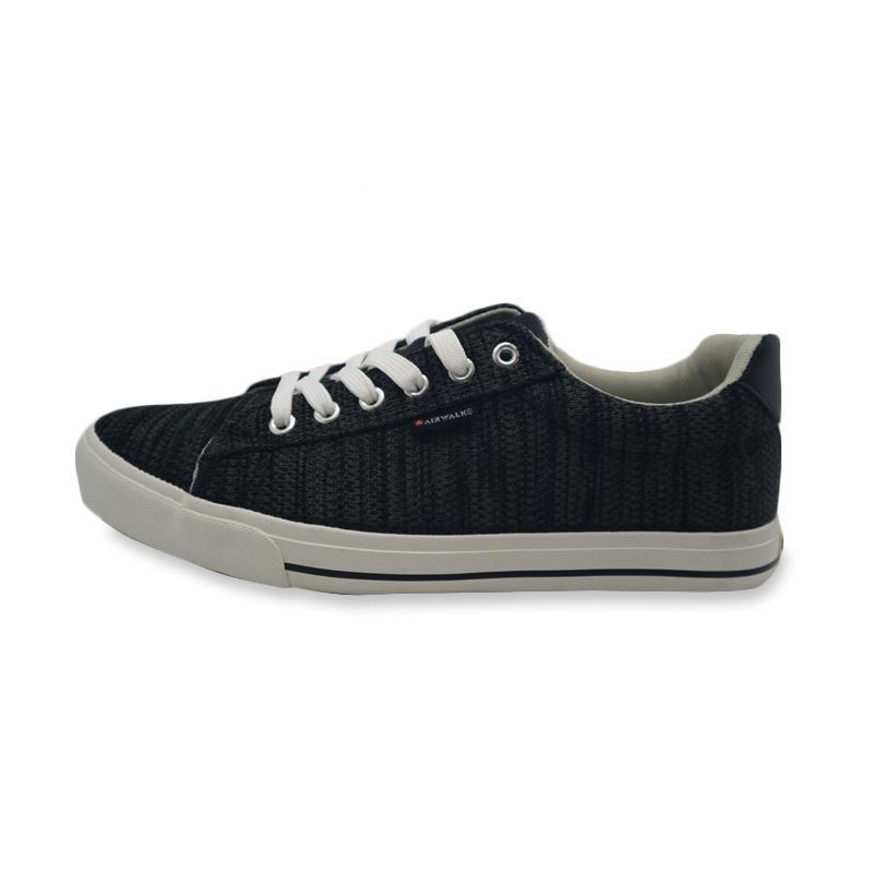 Airwalk Evor Sepatu Sneakers Pria AIWX80601BK Original 8e2d5413fb