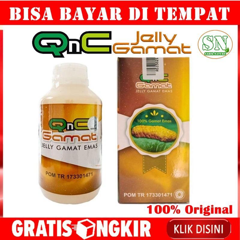 QnC Jelly Gamat 300 ML Ekstrak Teripang Emas Asli Original 100% Bukan Jeli Gammat Gold G 500 ml / Luxor Mitoha Cair Jely Jelli GnC Herbal