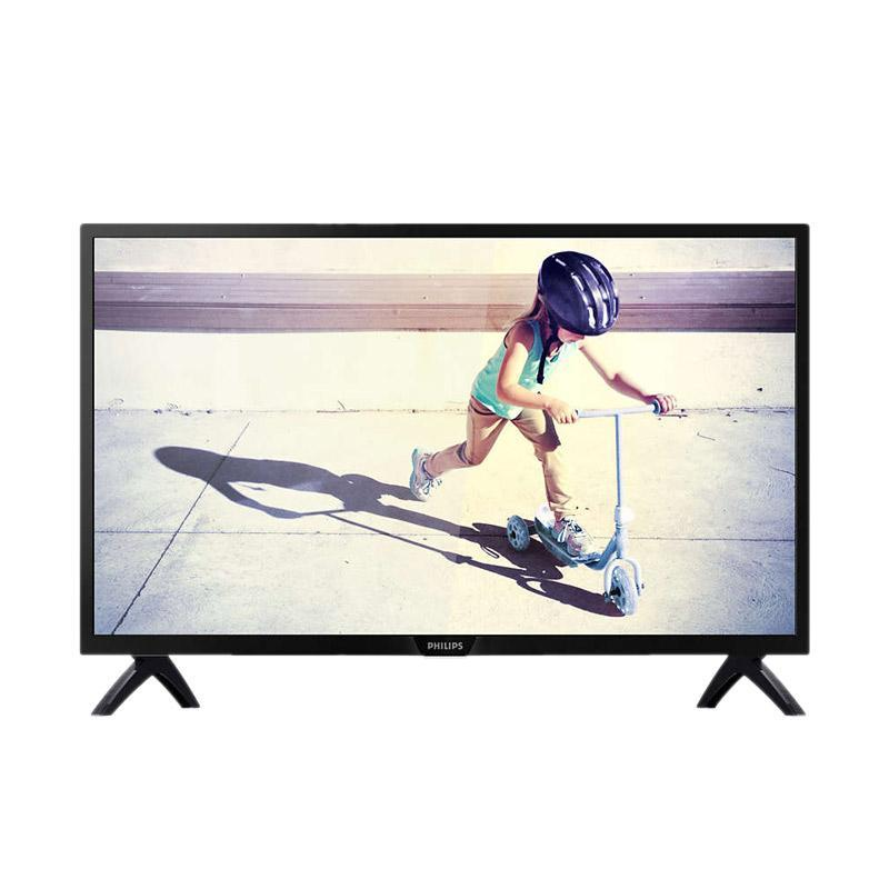 PHILIPS 32PHT5853S-70 Digital Smart TV LED [32 Inch] Unit Only Hitam -