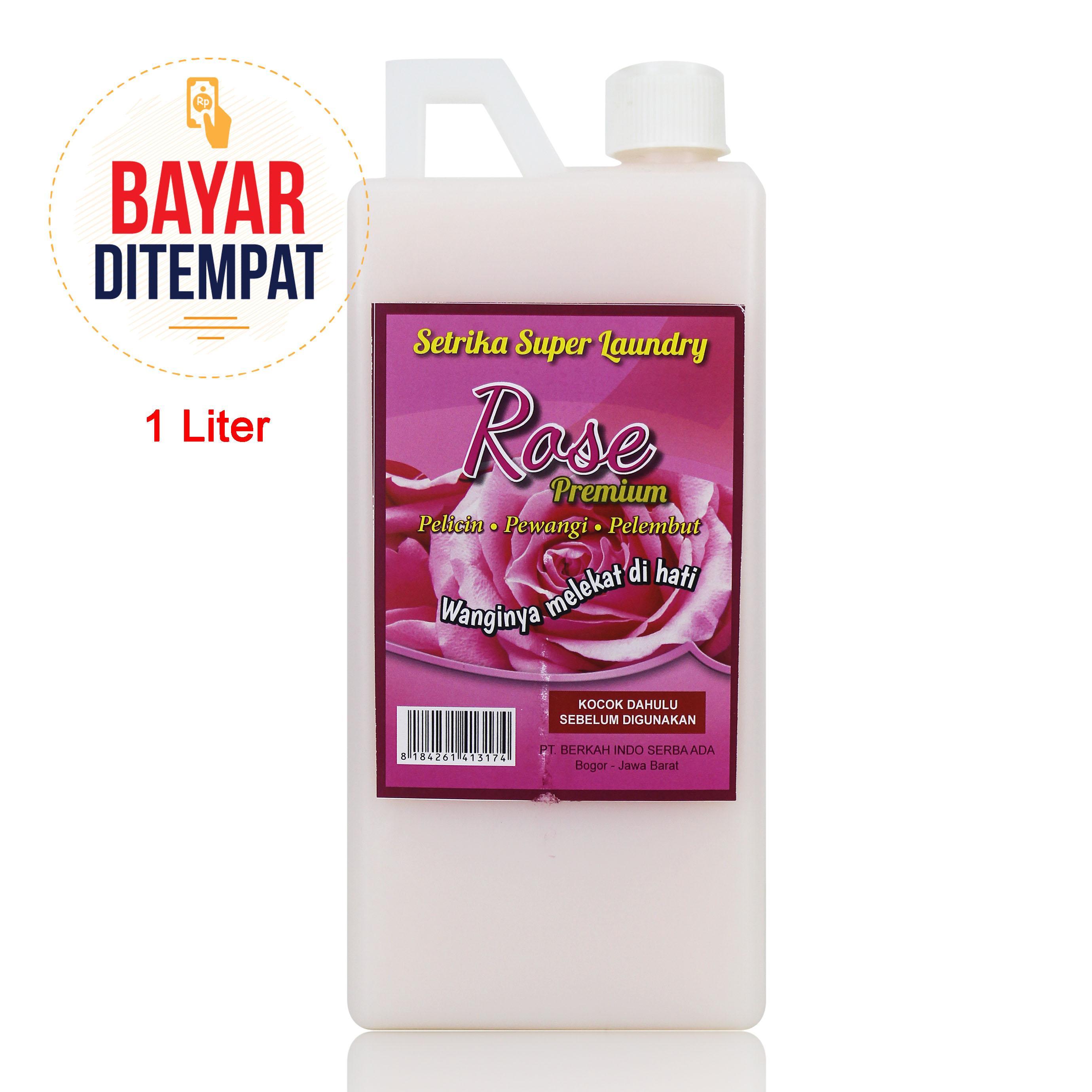 Hiber Clean - Pewangi & Pelicin Setrika Rose Premium Laundry [Candy]