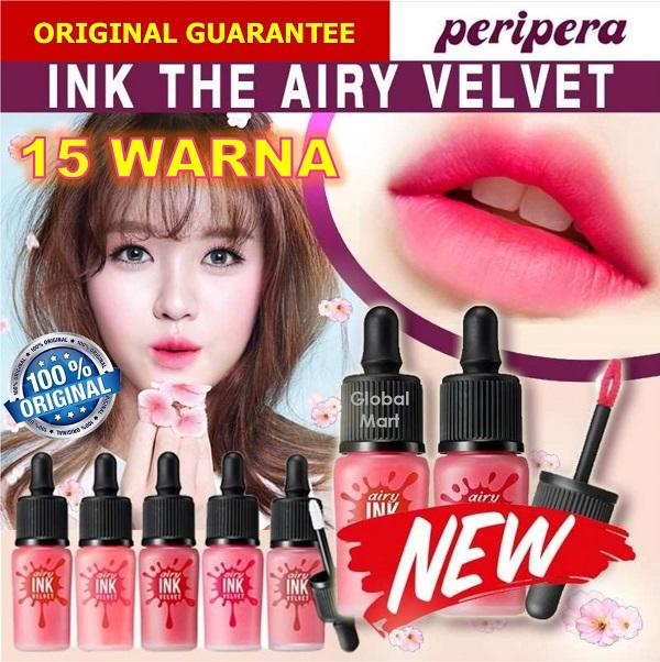Peripera Airy Ink Velvet 100% Original Fast Delivery By Global Mart.