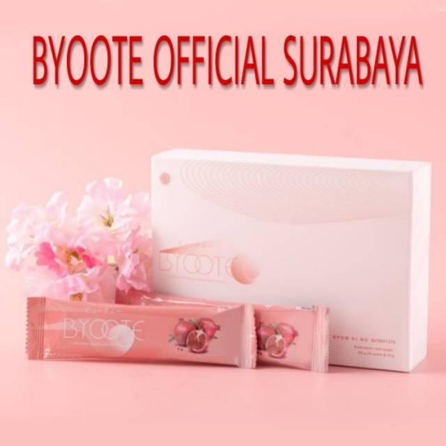 Agen Resmi Byoote Original Pemutih Halal BPOM 1 Box isi 16 Sachet