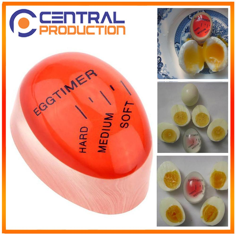 [ Egg Timer ] Pengatur Waktu Merebus Telur - Alat Penanda Masak Telur - Warna Merah