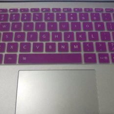 4Connect Silicon Keyboard Protector for XiaoMi Airbook 12.5 Inch Laptop - Purple