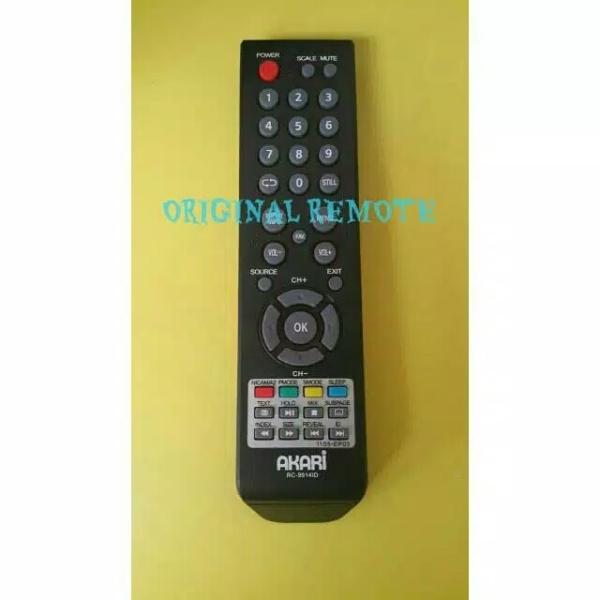 REMOTE TV LCD LED AKARI RC-9914ID ORIGINAL 100%