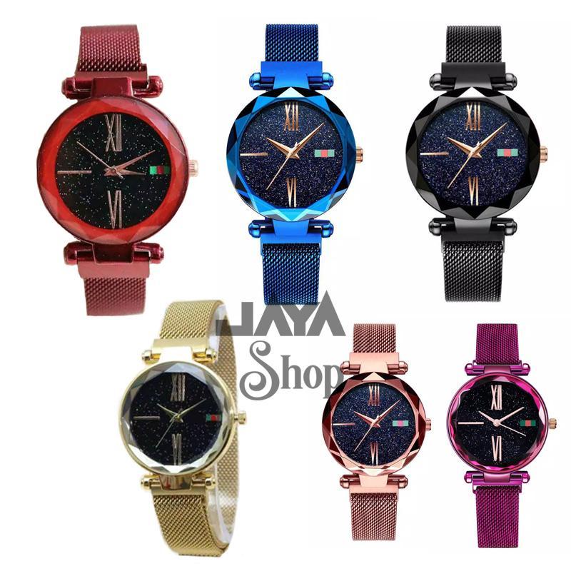 jaya shop jam tangan wanita NEW MODEL KOREA TALI MAGNET BISA BAYAR DITEMPAT  (COD) 813eeb3ce7
