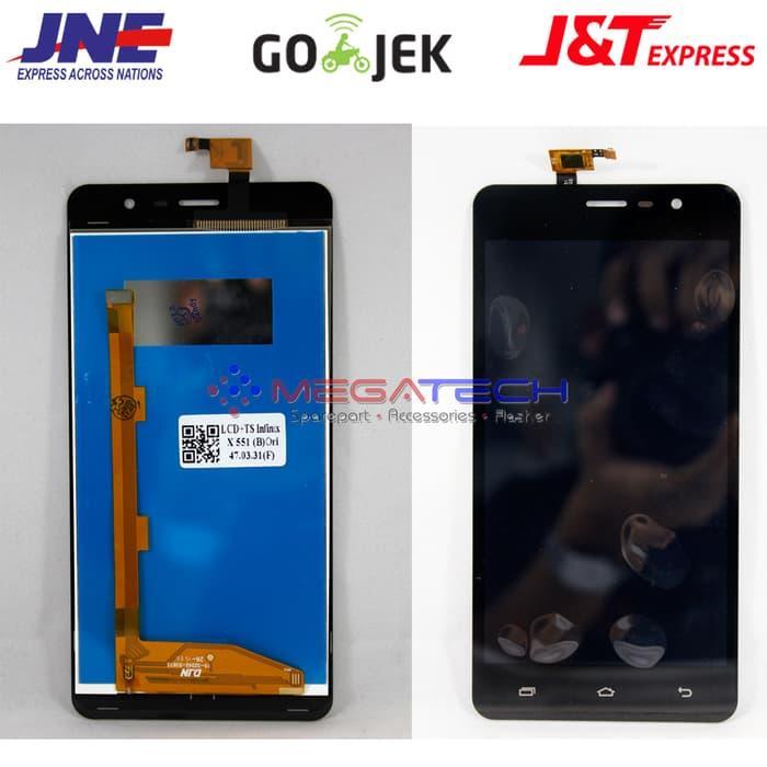 LCD TOUCHSCREEN INFINIK X 551 / NOTE 2 /5.5 INCH - Hitam