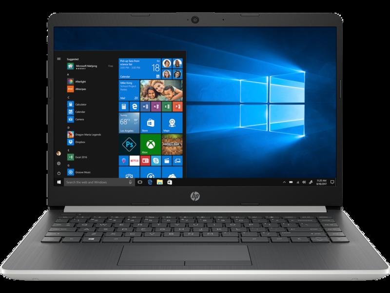 HP Notebook - 14s-dk0114au - AMD Athlon™ 300U - 8GB - 1TB HDD + 256GB SSD - AMD Radeon™ Vega 3 Graphics - 14  - W10 - Laptop Umum