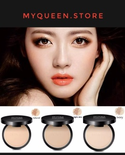 IMAGES PRESSED POWDER Face Makeup bioaqua Waterproof no sebum Lose Powder Skin Matte Satin Finish Setting Powder BEDAK PADAT TAHAN LAMA HASIL MATTE thumbnail