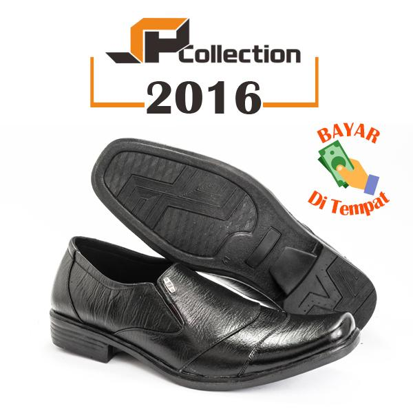 SPATOO Sepatu Pria 2016 - Hitam   Sepatu Pria Kulit   Sepatu Pantofel Kulit  Asli   a5bc9a48b7
