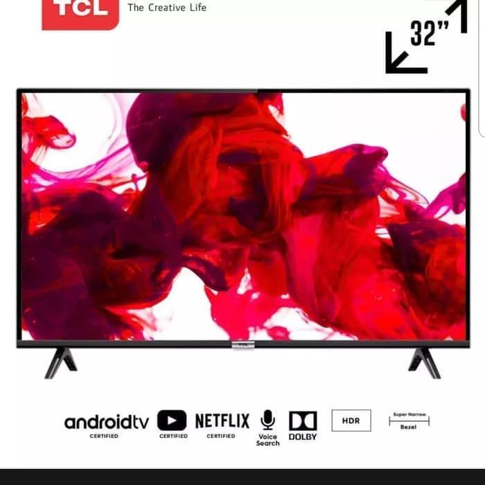 TCL LED TV 32 Inch L32S62 LED SMART TV USB HDMI HD