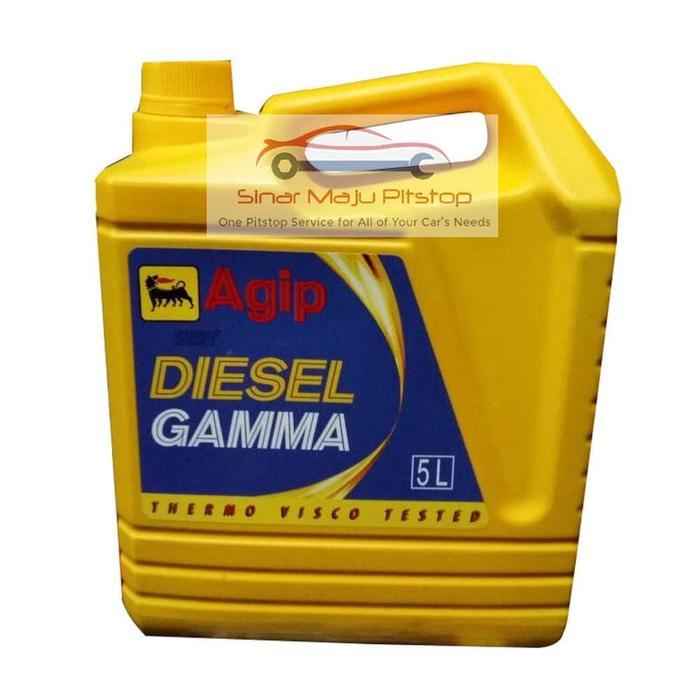 Agip Diesel Gamma SAE 40 - Pelumas Oli Mesin Mobil Diesel - Truk - M s