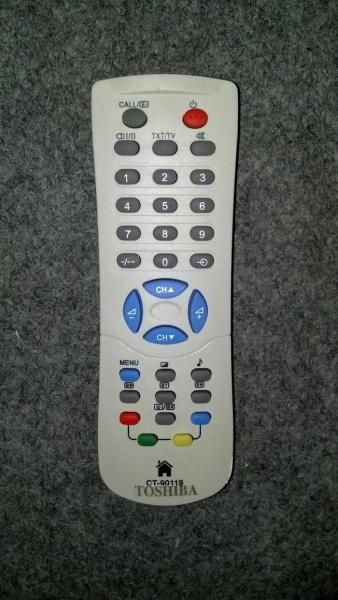 remot tv toshiba tabung putih remote tosiba tosh tbg pth