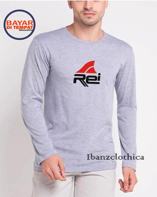 Ibanzclothica - Kaos Lengan Panjang REI IBZ0004 / Kaos Distro / Kaos Pendaki / Kaos Olahraga