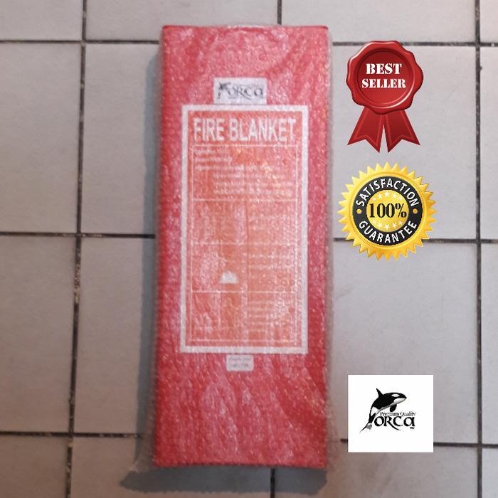 TERMURAH Fire Blanket/selimut api/fire blengket 1.2 x 1.2 mtr ORCA / selimut berkualitas