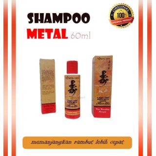Shampoo Metal 60ml 100ml 200ml Longlife Shampo Pemanjang Rambut Styling Rambut Wanita Keelokan Com