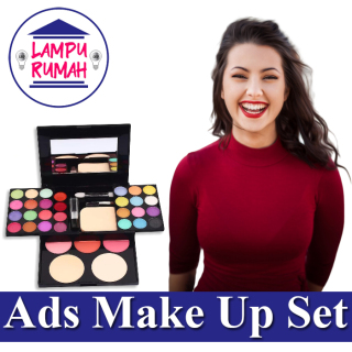 ADS 6568 Make Up Set Pallate Eyeshadow Pallate Make Up Kit - 1 Set Tampil Cantik Dengan Ads Alat Make Up Murah thumbnail
