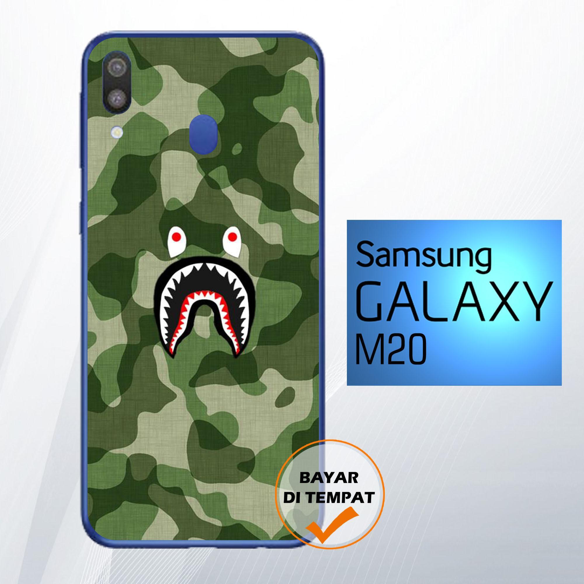 Case Samsung Galaxy M20 20-51-Hardcase-Softcase-Fullprint-Aksesori hp-Pelindung hp-Kondom hp