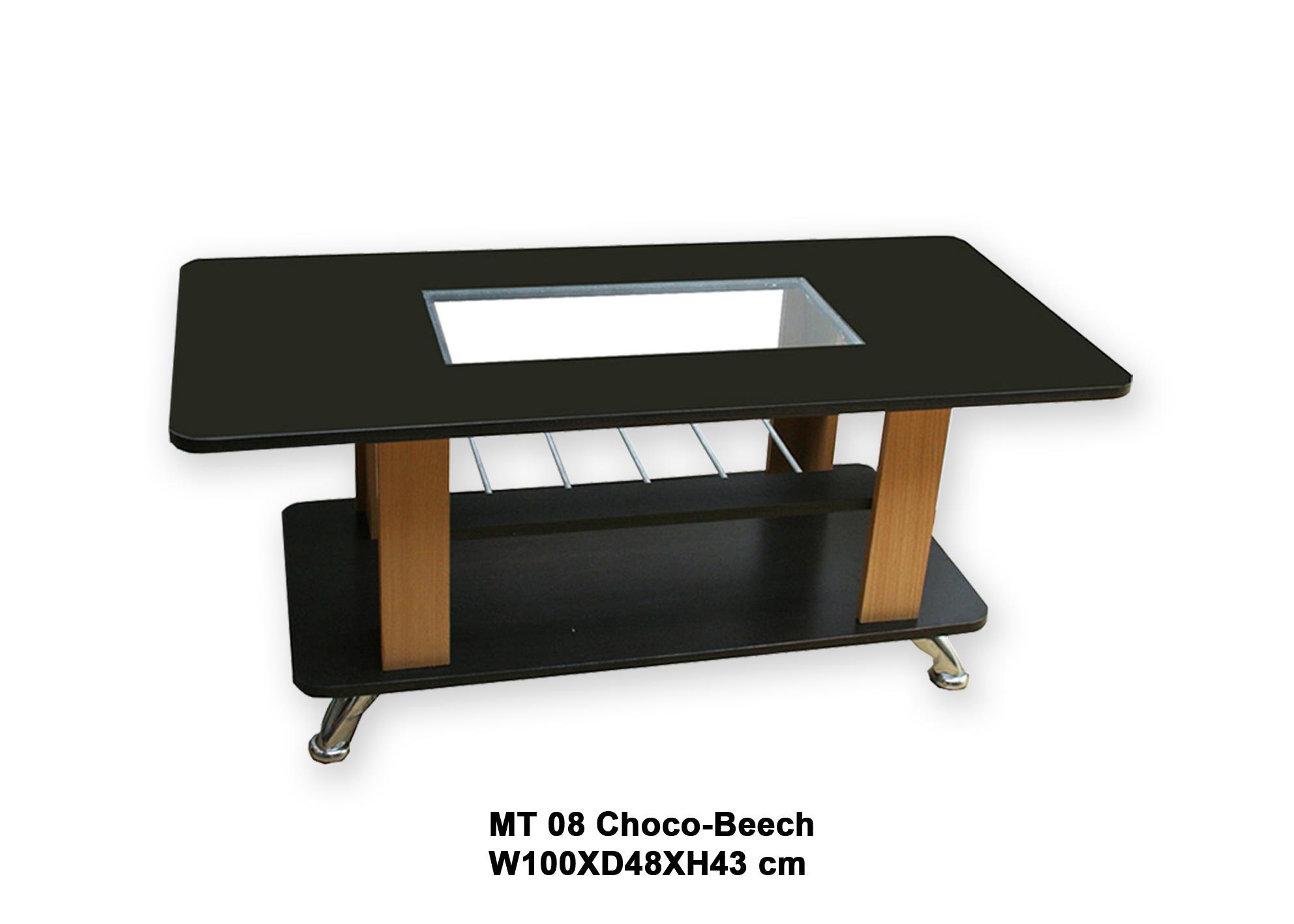 Dongsun Coffee Table/Meja Tamu MT 08 Black