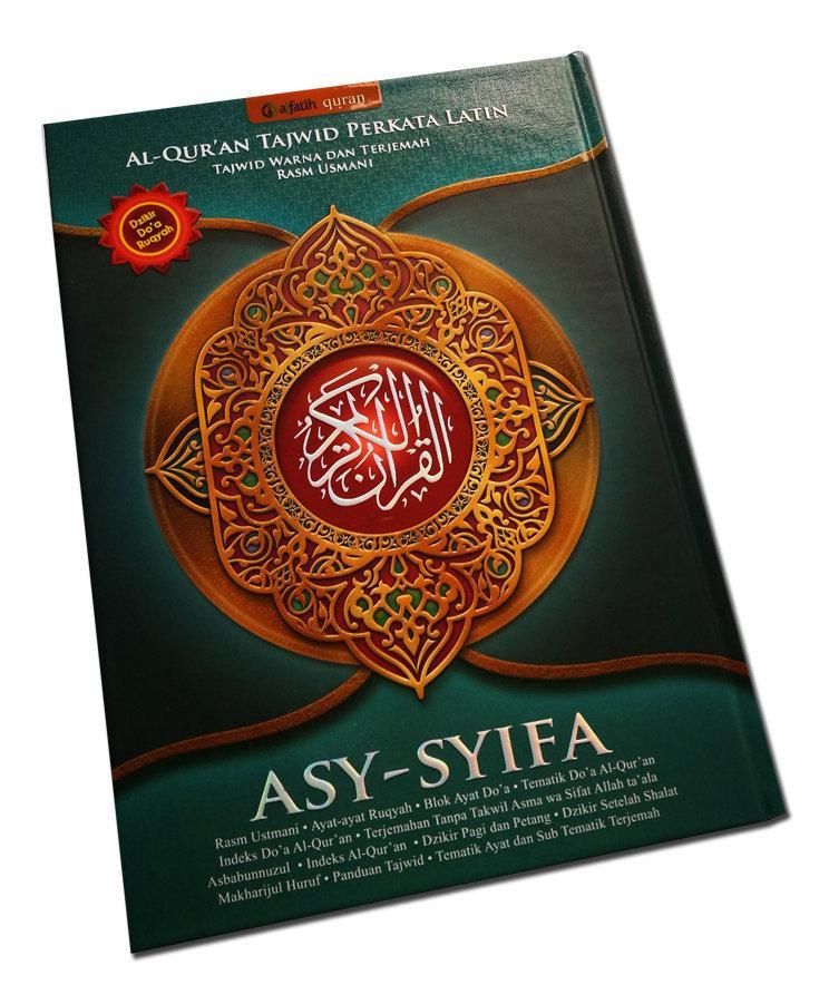 Al Quran Tajwid Perkata Latin ASY-SYIFA A4