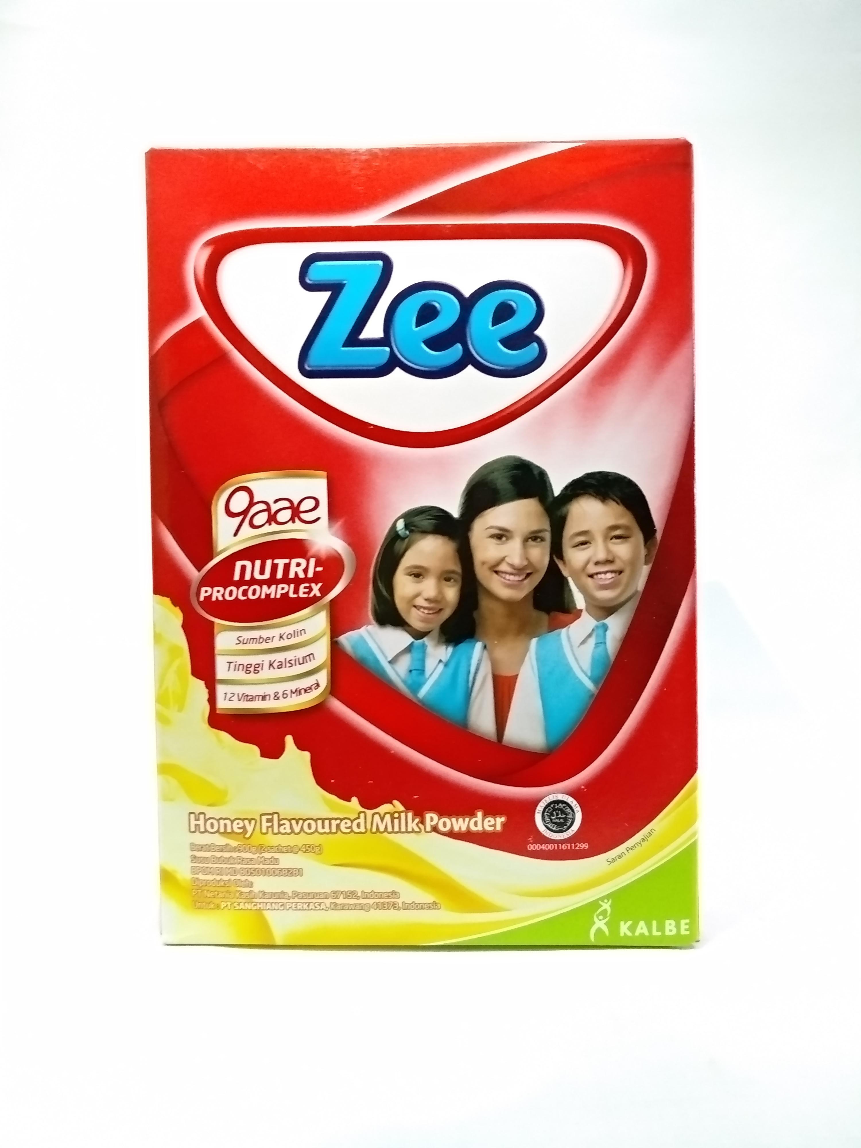 Zee Box/Coklat/Vanila/Honey/900GR