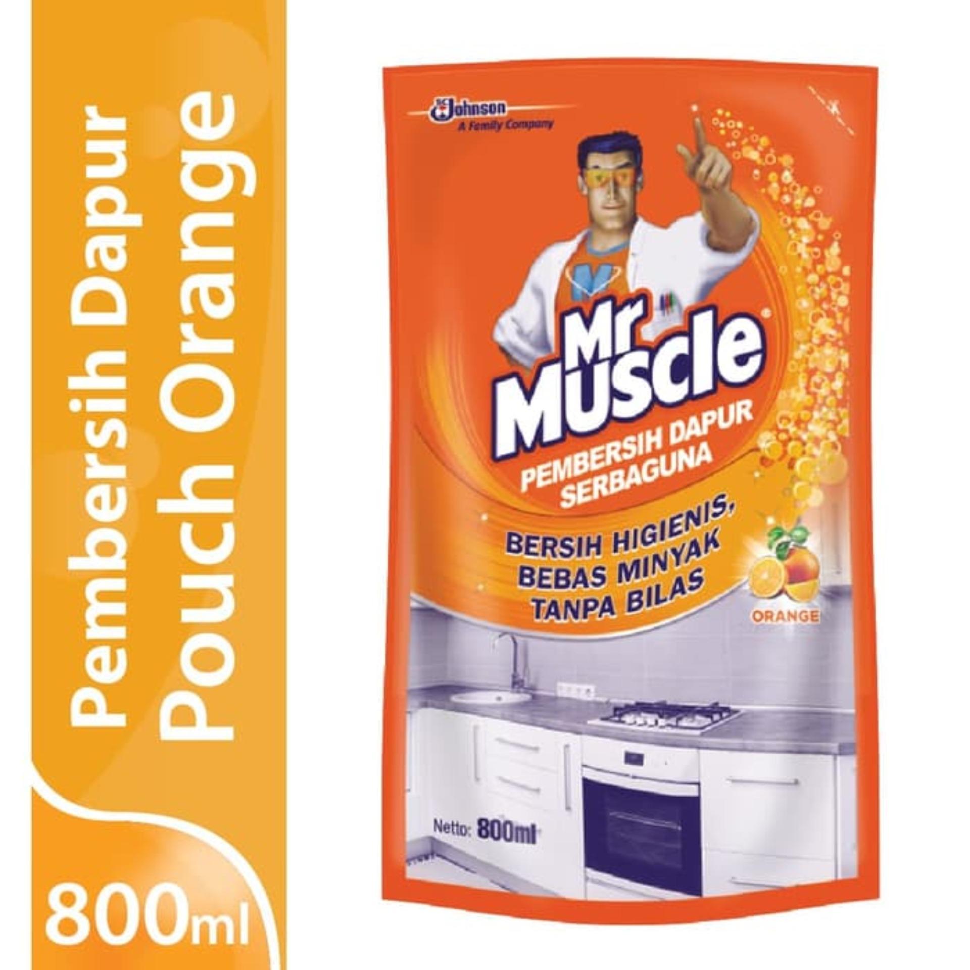 Mr. Muscle Kitchen Orange Pouch 800ml By Sc Johnson & Son Id.