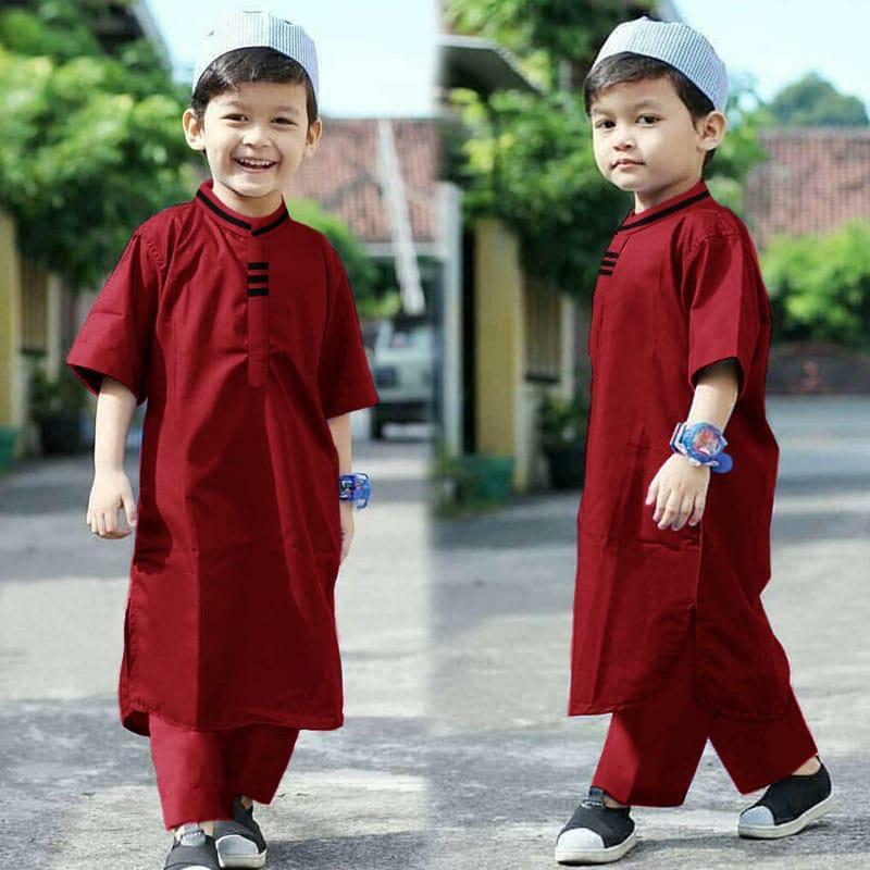 Image result for Cara Memilih Baju Anak Laki-laki jenis Baju Koko yang Kasual