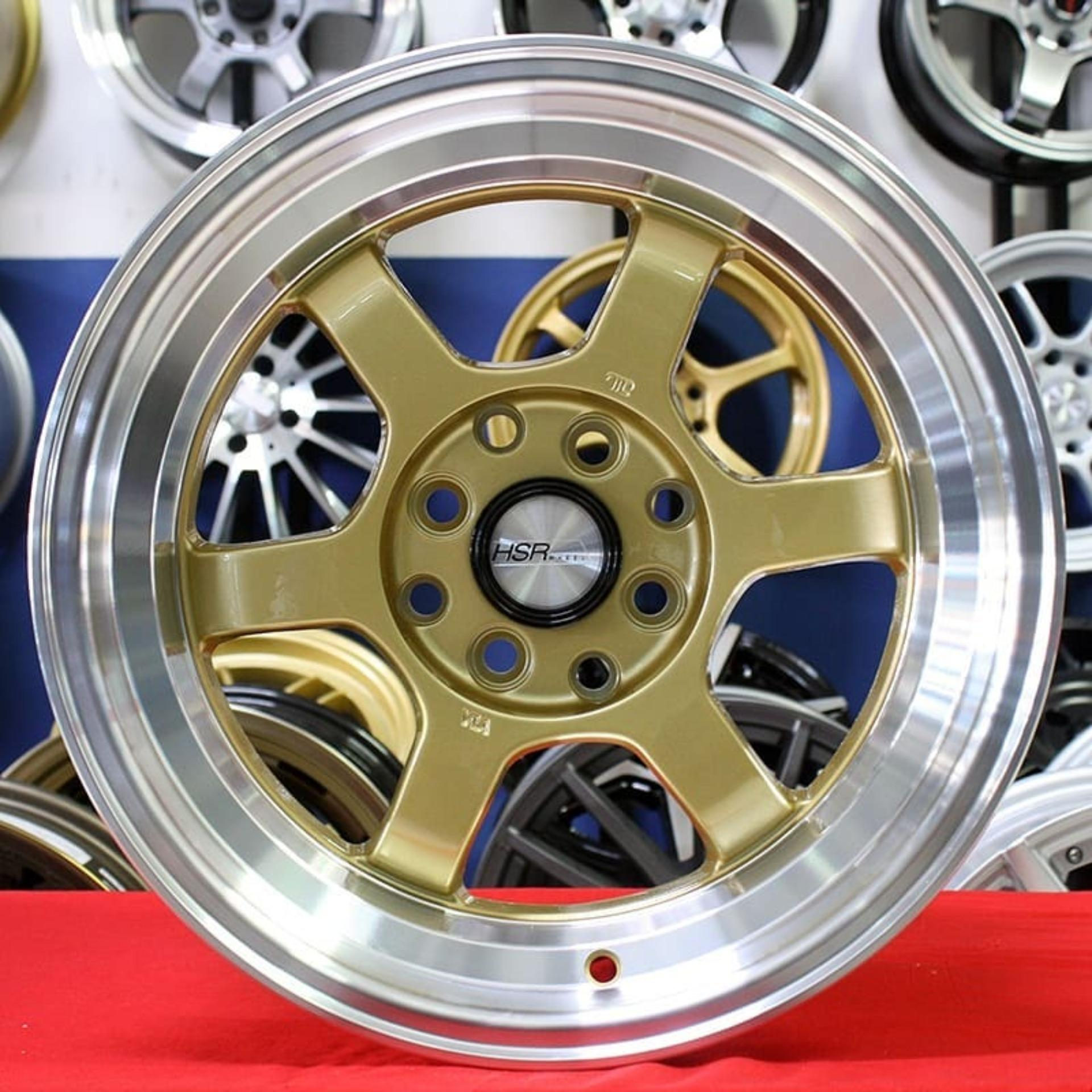 Velg Mobil R15 HSR TOKYO RIFU, Pelek racing Brio Yaris Jazz Avanza Mirage Nissan march dll