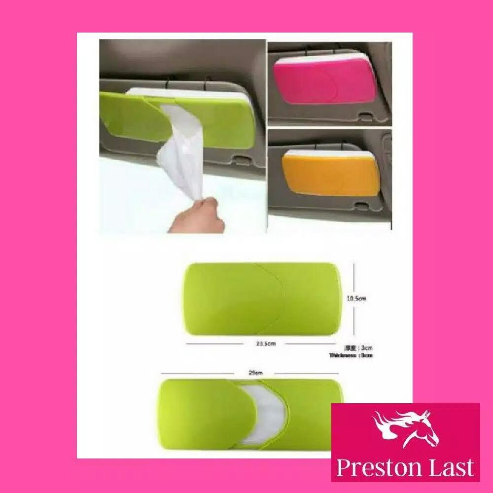 Preston Last - Tempat Tissue Tisu Sun Visor Mobil Tissu Car Organizer Bag Sunvisor Variasi Holder Variasi ZMOTS