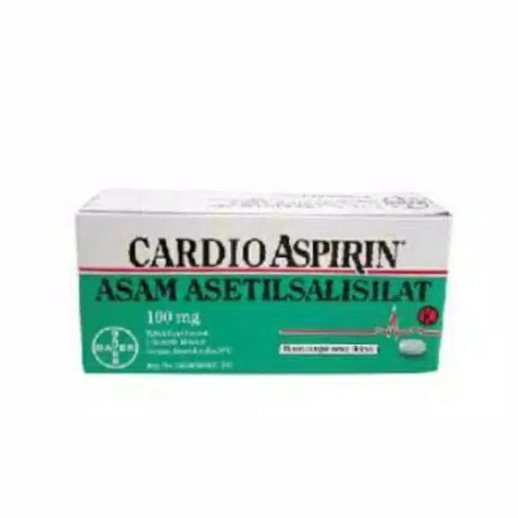 Cardio aspirin box isi 30 tablet