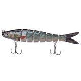 Jual 5 5 Multi Jointed Fishing Lure Bait Swimbait Life Like Herring Bass Pike Muskie Murah