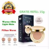 Harga 03 Light Skin Bioaqua Exquisite And Delicate Bb Cream Air Cushion Pack Gold Case Spf 50 Foundation Make Up Wajah Free Refill Online