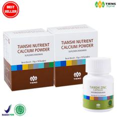 Spesifikasi 1 10Cm Naik Dalam 10 Hari Suplemen Herbal Tiens Peninggi Badan Paket Hemat Promo Lengkap