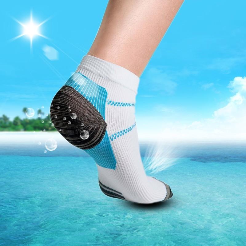 1 pasang kaos kaki nyaman untuk tumit kualitas tinggi untuk pria dan wanita | Lazada Indonesia