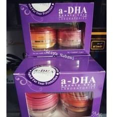 1 Paket a-DHA beautycare Ori PINK ( cream pemutih wajah 20-40thn )