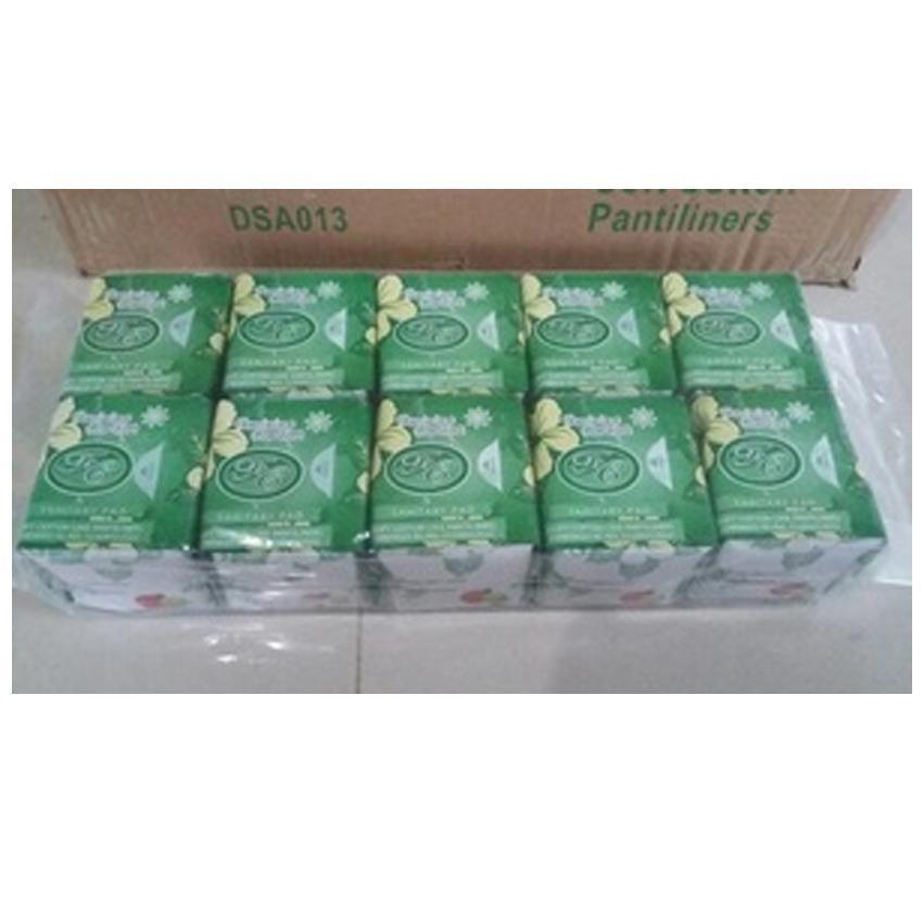 10 pcs Avail Hijau Pembalut Herbal Pantyliner