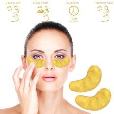 10 pcs Eyecol Masker Mata Collagen Gold Crystal - KPM-12
