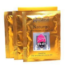 20pcs Hanasui Masker Lumpur Naturgo Mud Mask Natur - KPW-158