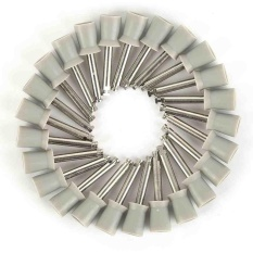 100 Pcs Gigi Latch Polisher Tipe Polishing Prophy Cup Tooth Bowl Gigi Perawatan-Intl