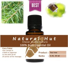 Harga Hemat 100 Pure Essential Oil Tea Tree 10Ml
