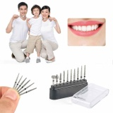 Jual 10 Pcs Fg Diamond Burs Kit Kecepatan Rendah Gigi Bor Handpiece Dental Polisher Alat Internasional Antik