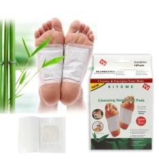 Jual Beli 10Pcs Kinoki In Box Detox Foot Pads Organic Herbal Weight Loss Health Care Intl Baru Tiongkok