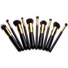 Katalog 10 Pcs Profesional Alat Makeup Kosmetik Bedak Eyeshadow Blush Brushes Set Oem Terbaru