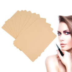 Beli Barang 10 Pcs Tattoo Practice Skin Makeup Kosmetik Permanen Alis Latihan Kulit Intl Online