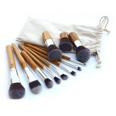 Beli 11 Buah Set Kuas Rias Profesional Kuas Kosmetik Alat Kit Set Foundation Internasional Cicilan