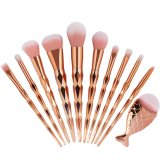 Penawaran Istimewa Kuas Makeup 11 Pcs Untuk Berbagai Fungsi Warna Pink Terbaru